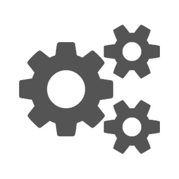 Fogaskerekek ikon