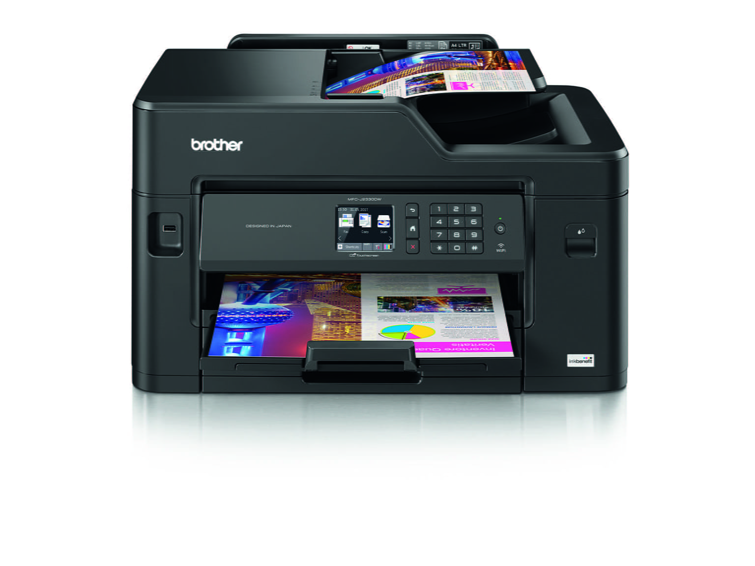 MFC-J2330DW printer picture Inkbenefit Professional