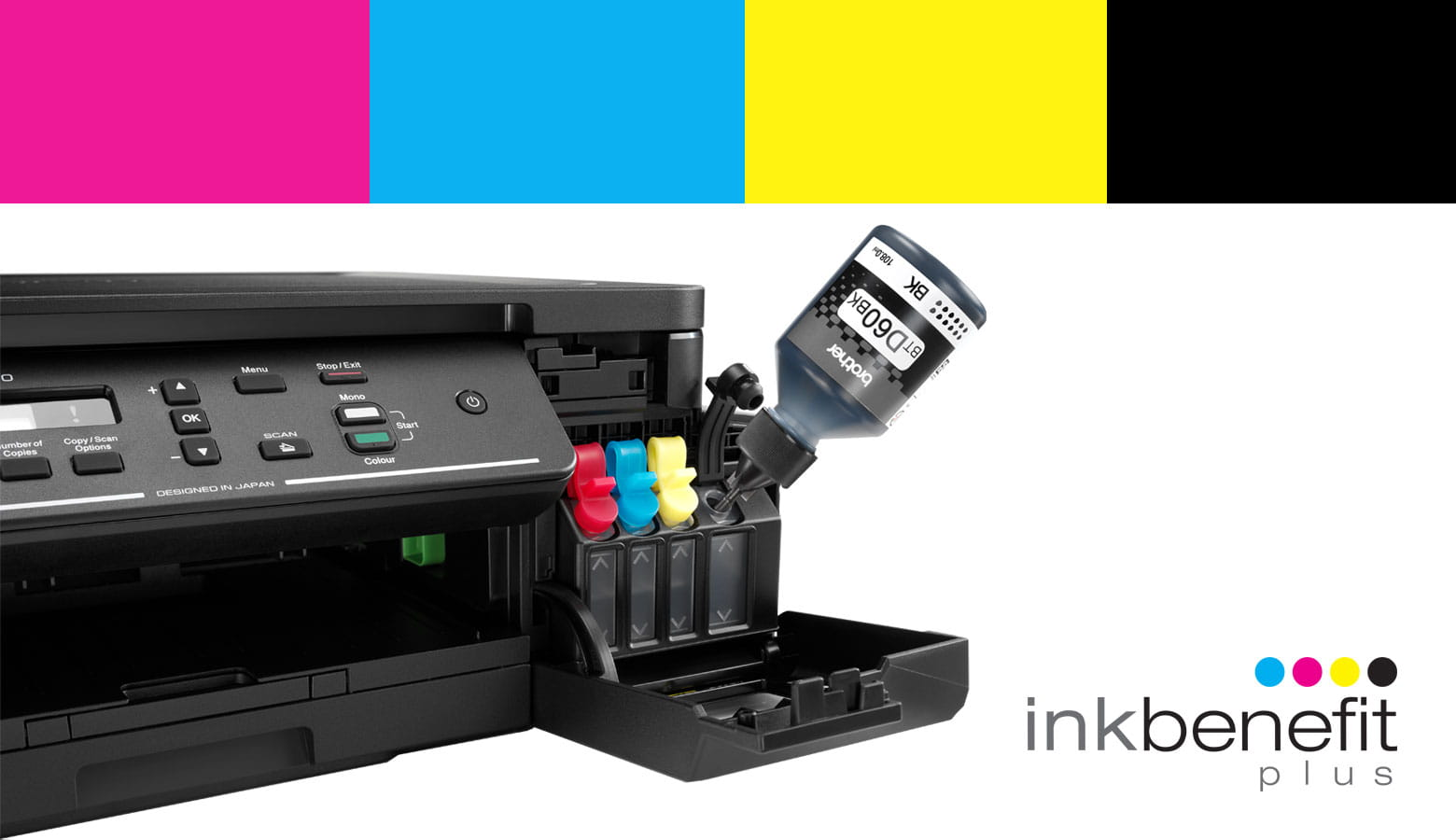 InkBenefit Plus Inkjet Printer MFC-T910DW with black ink