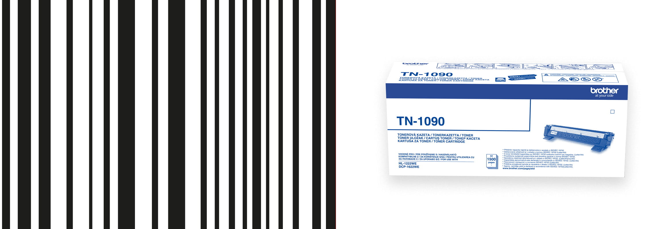 tonex box TN-1090 with barcode