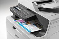 DCP-L3550DW-színes LED nyomtató_nyomattal