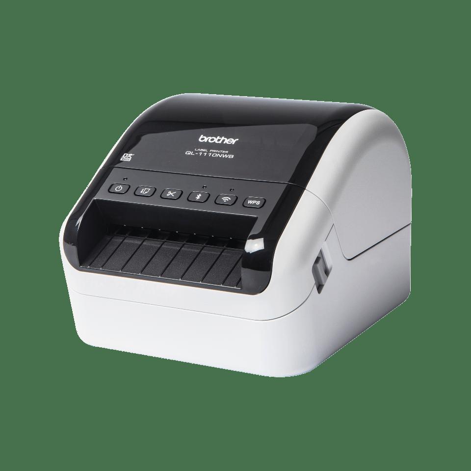 QL-1110NWB széles formátumú vonalkódos címkenyomtató 2