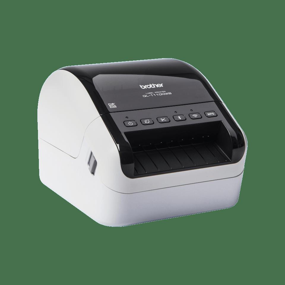 QL-1110NWB széles formátumú vonalkódos címkenyomtató 3