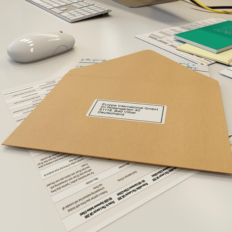 QL-600B postai és címkenyomtató 4