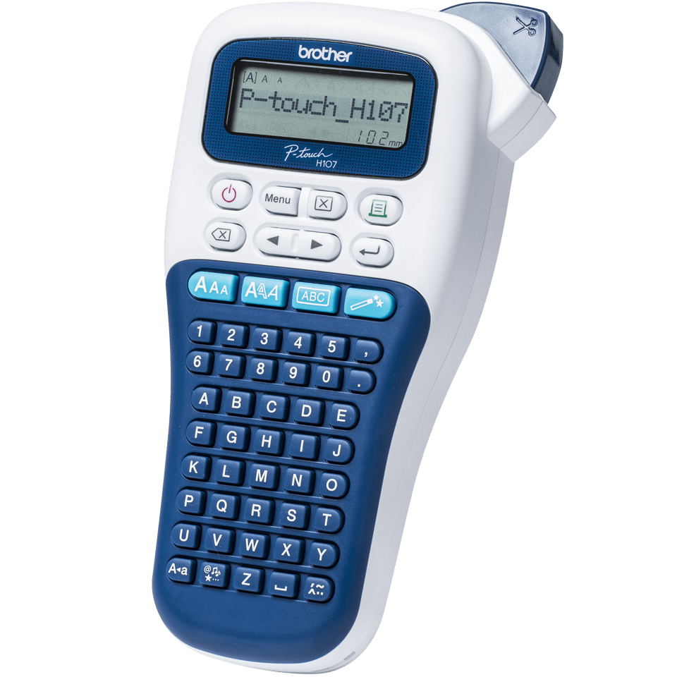 P-touch PT-H107B kézi címkéző készülék