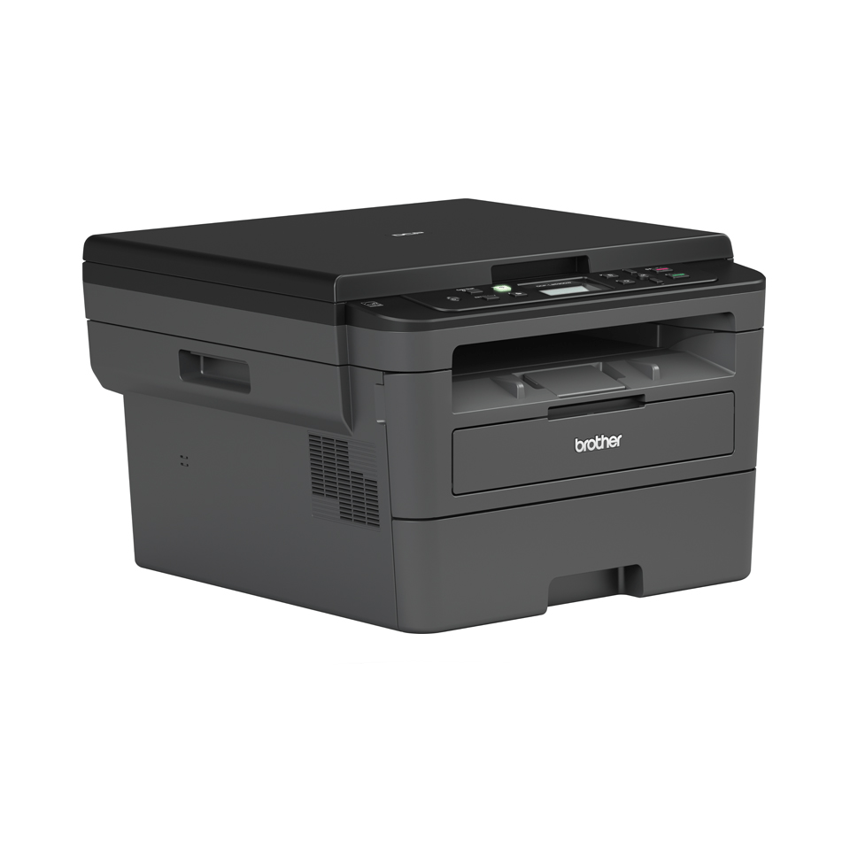 Compact Wireless 3-in-1 Mono Laser Printer - Brother DCP-L2532DW 3