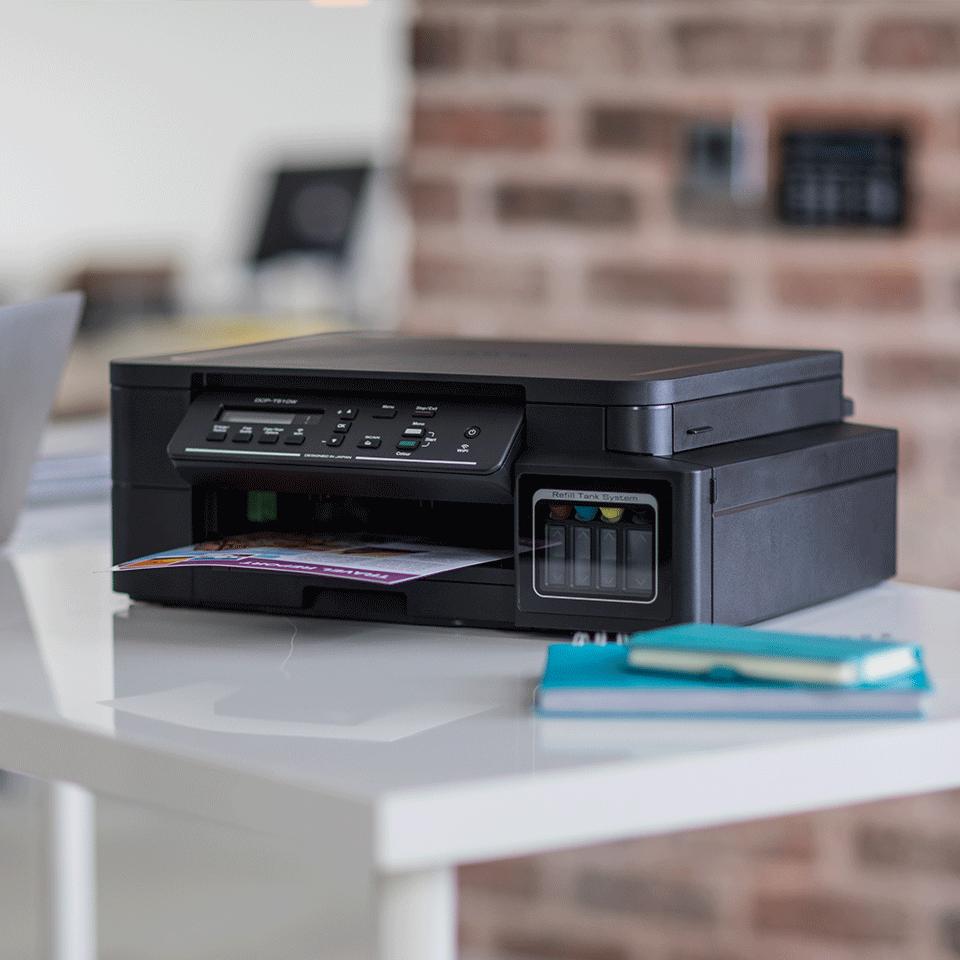 DCP-T510W InkBenefit Plus 3az1-ben színes, wireless, tintasugaras készülék a Brother-től 3