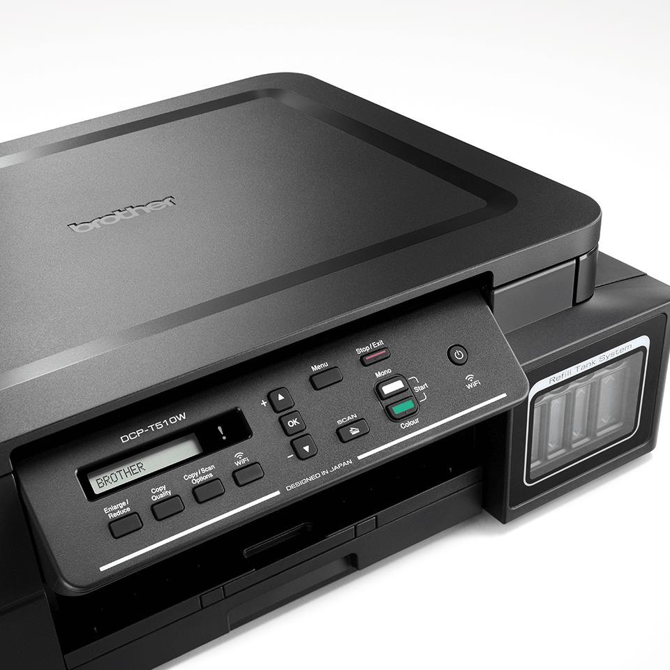 DCP-T510W InkBenefit Plus 3az1-ben színes, wireless, tintasugaras készülék a Brother-től 4