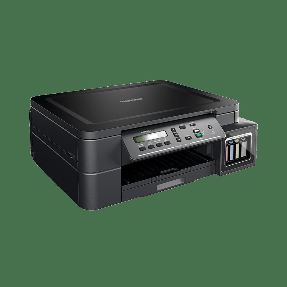 DCP-T510W InkBenefit Plus 3az1-ben színes, wireless, tintasugaras készülék a Brother-től 2