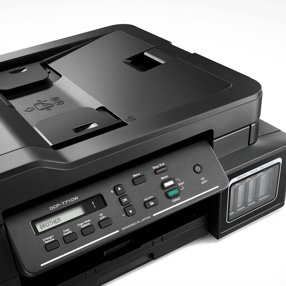 DCP-T710W InkBenefit Plus 3az1-ben színes, wireless, tintasugaras készülék a Brother-től 4