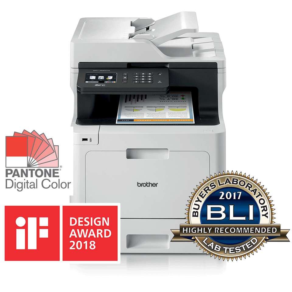 Brother MFC-L8690CDW színes All-in-One + Duplex és Wireless