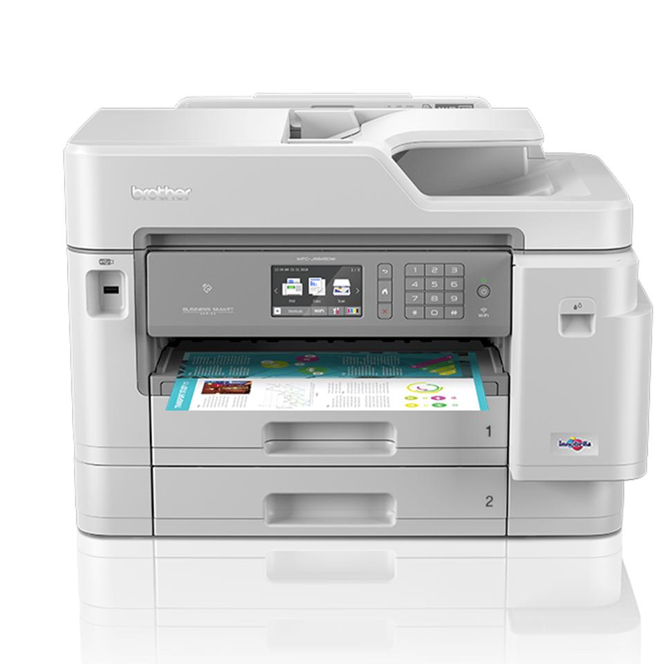 MFC-J5945DW színes wireless A3 tintasugaras 4az1-ben nyomtató