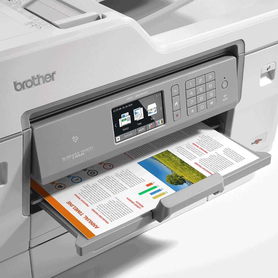 MFC-J6945DW színes wireless A3 tintasugaras 4az1-ben nyomtató 6