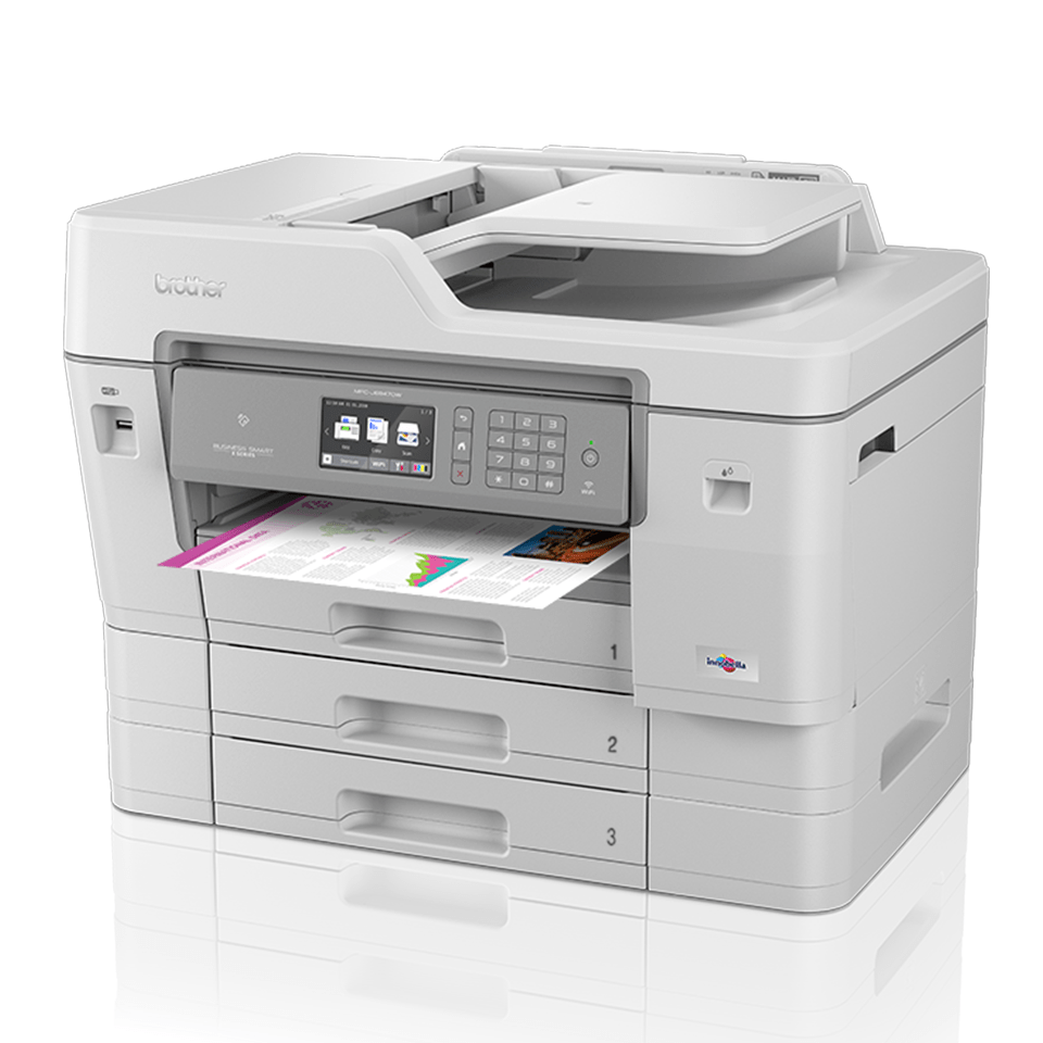 MFC-J6947DW színes wireless A3 tintasugaras 4az1-ben nyomtató 2