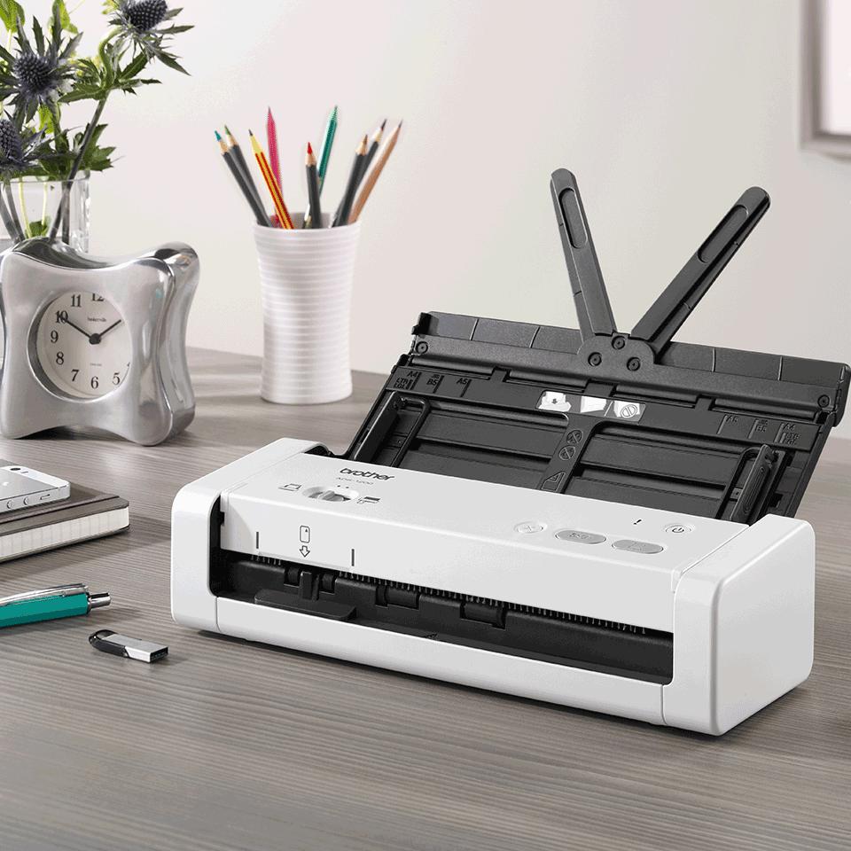 ADS-1200 hordozható, kompakt dokumentum szkenner 8