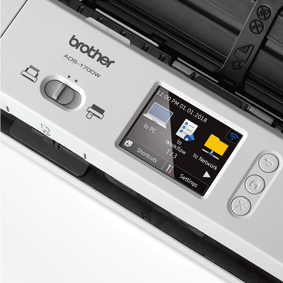 ADS-1700W kompakt dokumentum szkenner 8
