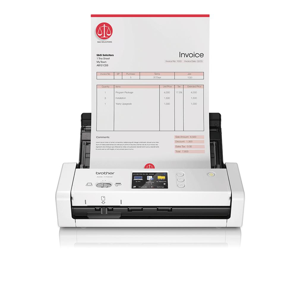 ADS-1700W kompakt dokumentum szkenner