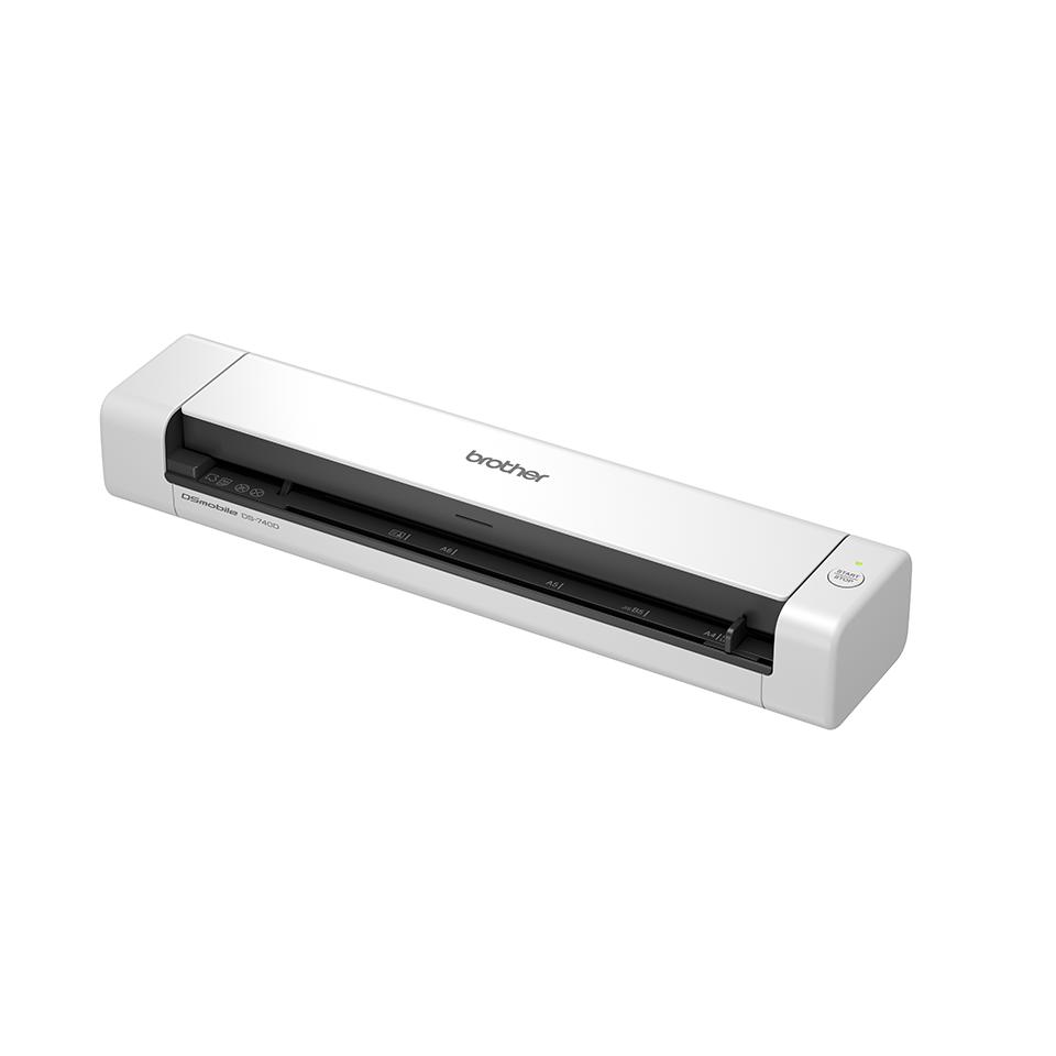 Brother DSmobile DS-740D duplex, hordozható dokumentum szkenner 2