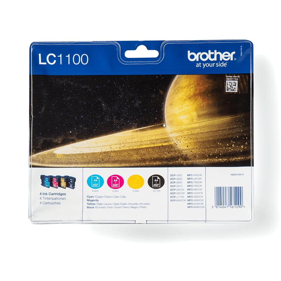 Eredeti Brother LC1100VALBP tintapatron - multipack csomag