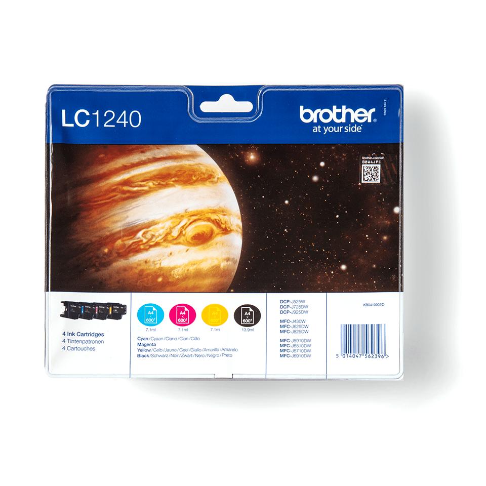 Eredeti Brother LC1240VALBP tintapatron - multipack csomag