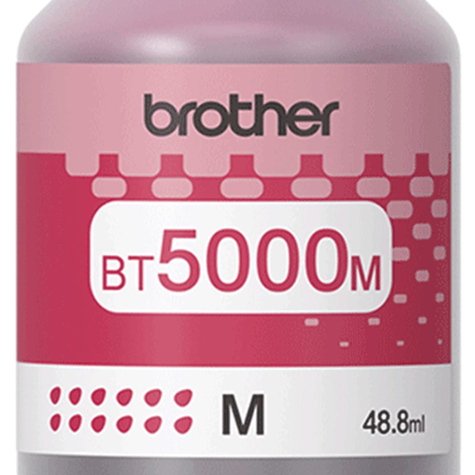 BT5000M eredeti Brother nagytöltetű magenta tintatartály 2