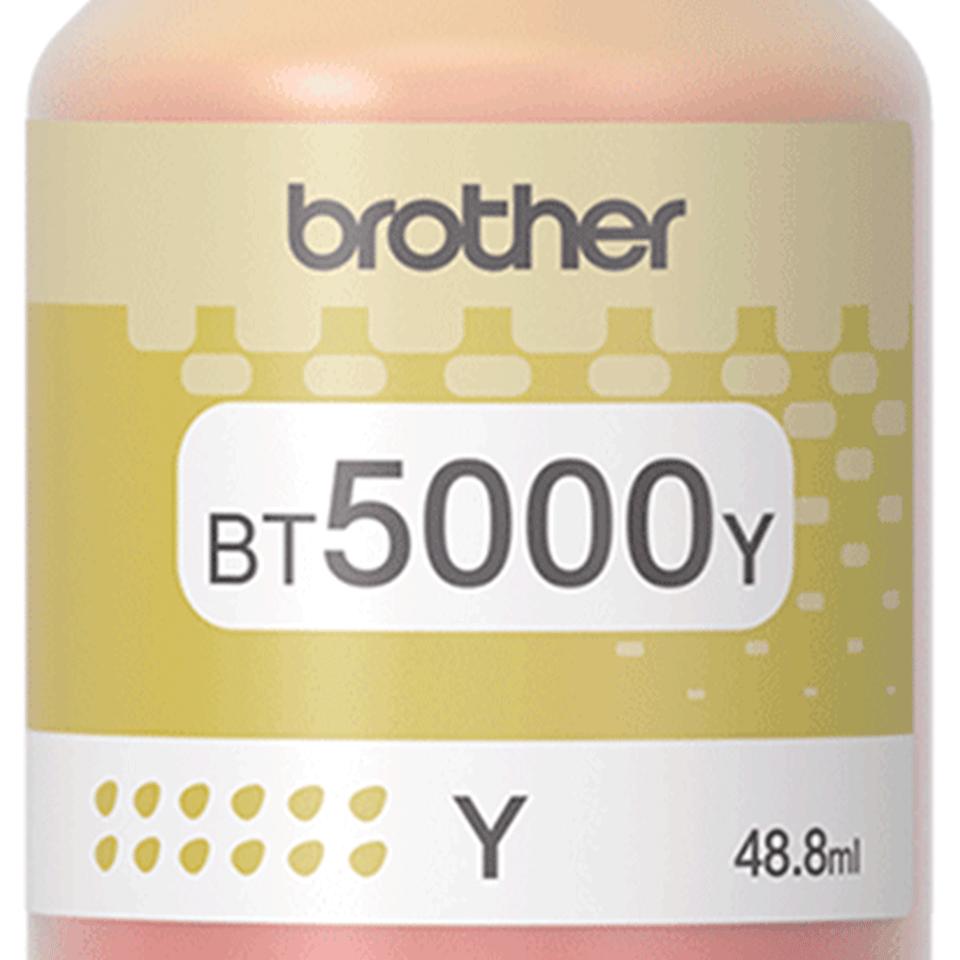 BT5000Y eredeti Brother nagytöltetű sárga tintatartály 2
