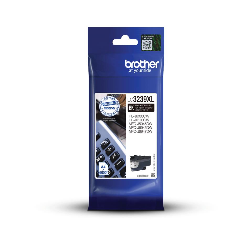 Genuine Brother LC3239XLBK High-yield Ink Cartridge – Black 3
