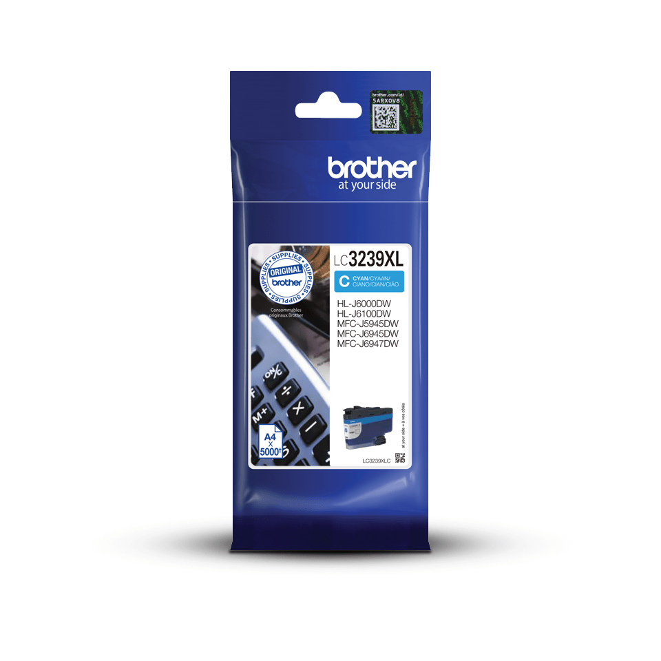 Genuine Brother LC3239XLC High-yield Ink Cartridge – Cyan 3