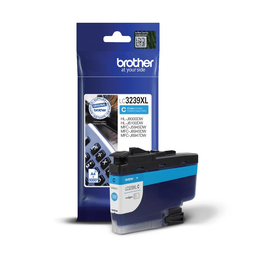 Genuine Brother LC3239XLC High-yield Ink Cartridge – Cyan 2
