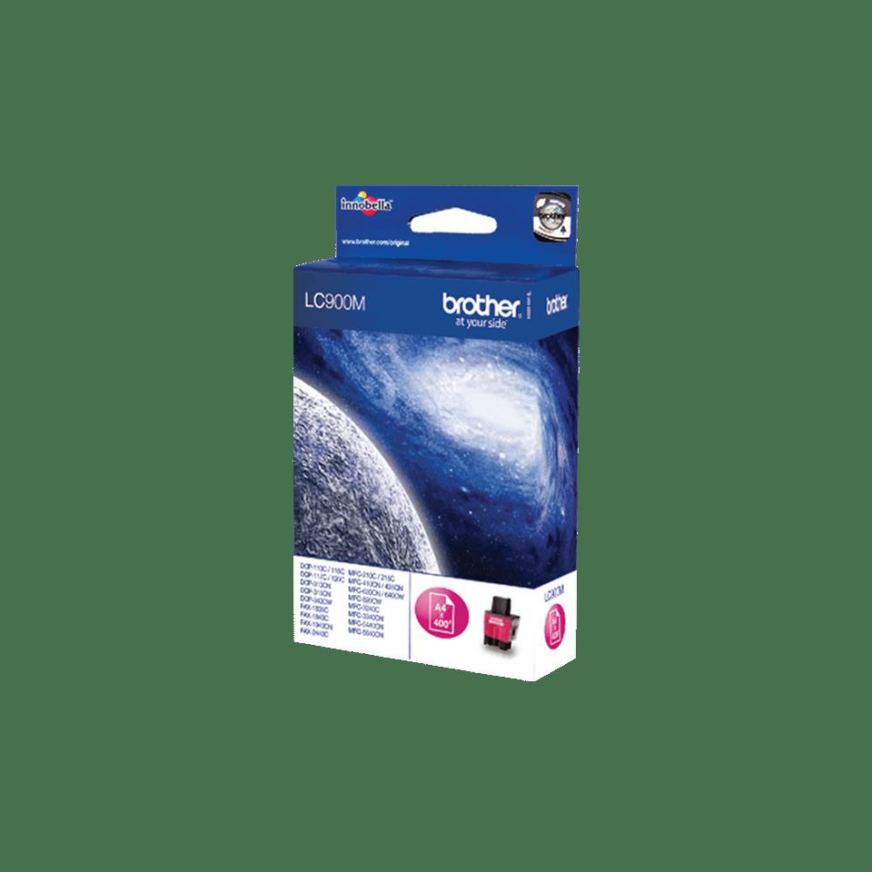 Eredeti Brother LC900M tintapatron – magenta 2