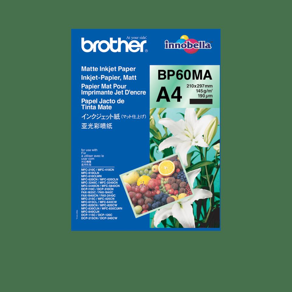 Eredeti Brother BP60MA matt A4 tintasugaras papír