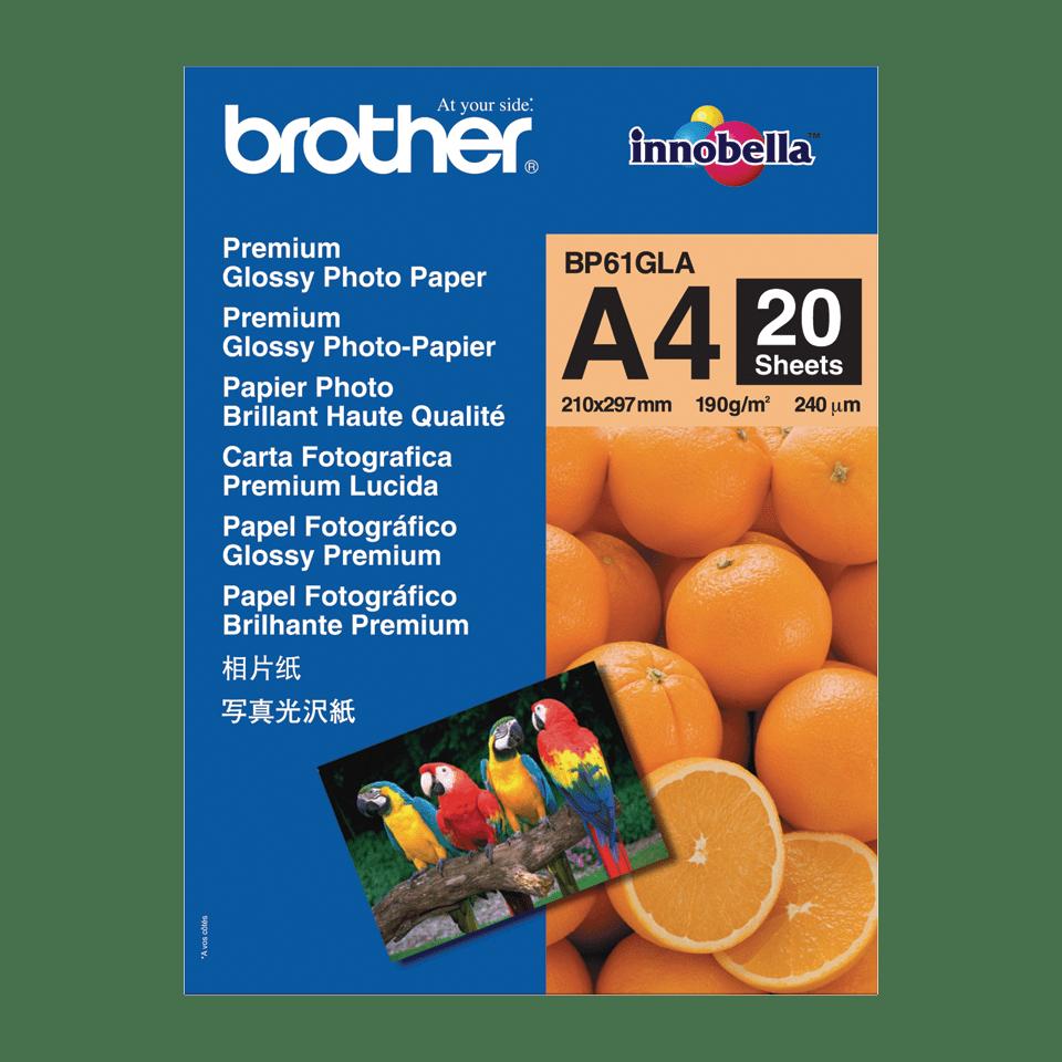 Eredeti Brother BP61GLA A4-es fényes fotópapír