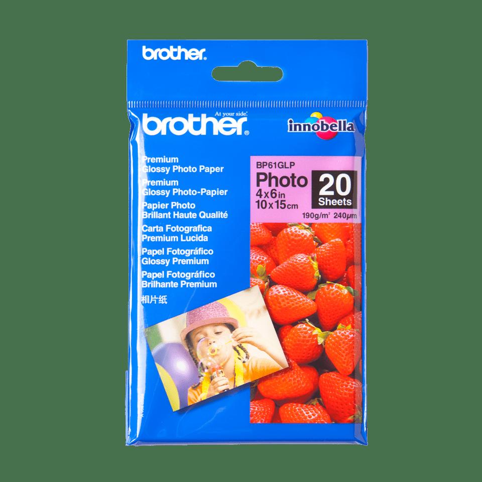 Eredeti Brother BP61GLP 10 cm x 15 cm méretű fényes fotópapír
