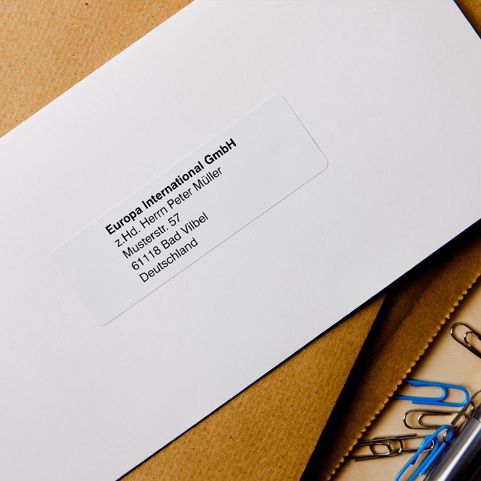 Eredeti Brother DK-11201 szalag tekercsben – Fehér alapon fekete, 29mm x 90mm 2