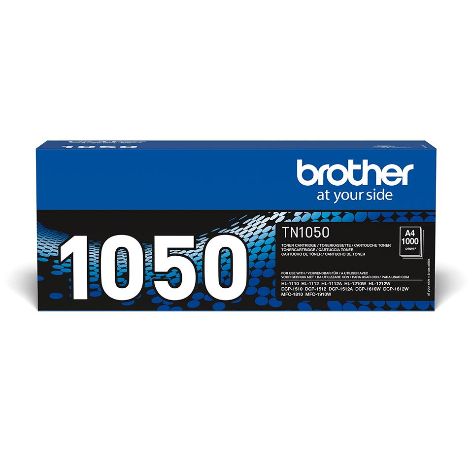 Eredeti Brother TN-1050 toner – Fekete