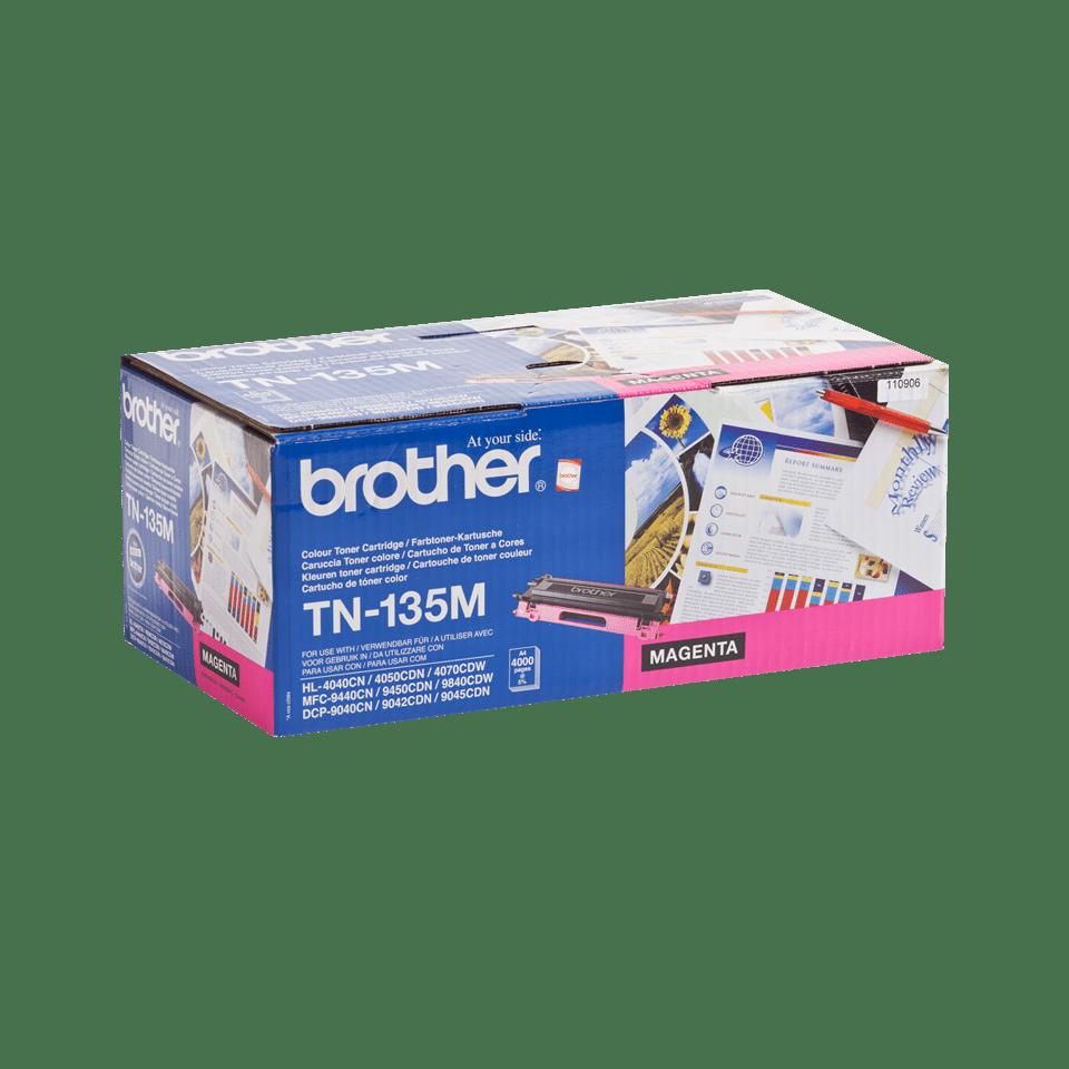 Eredeti Brother TN135M nagytöltetű festékkazetta - magenta 2