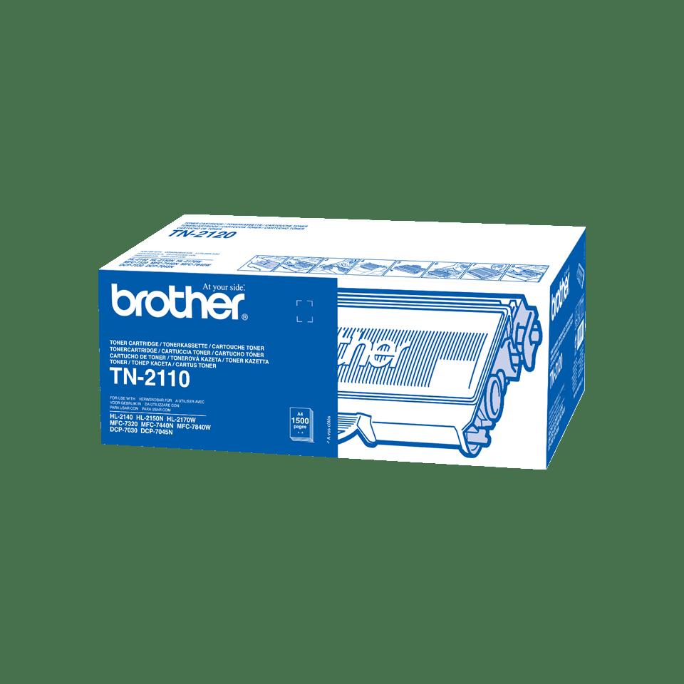 Eredeti Brother TN2110 festékkazetta - fekete