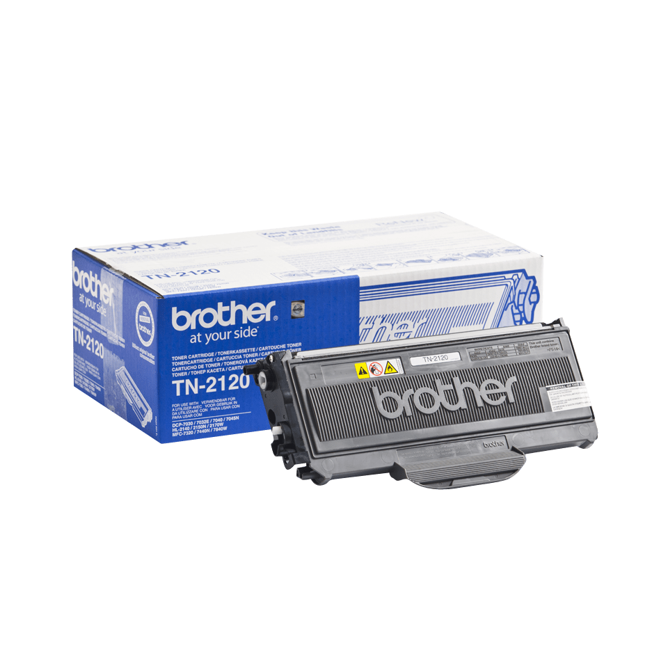 Genuine Brother TN-2120 High Yield Toner Cartridge – Black  2