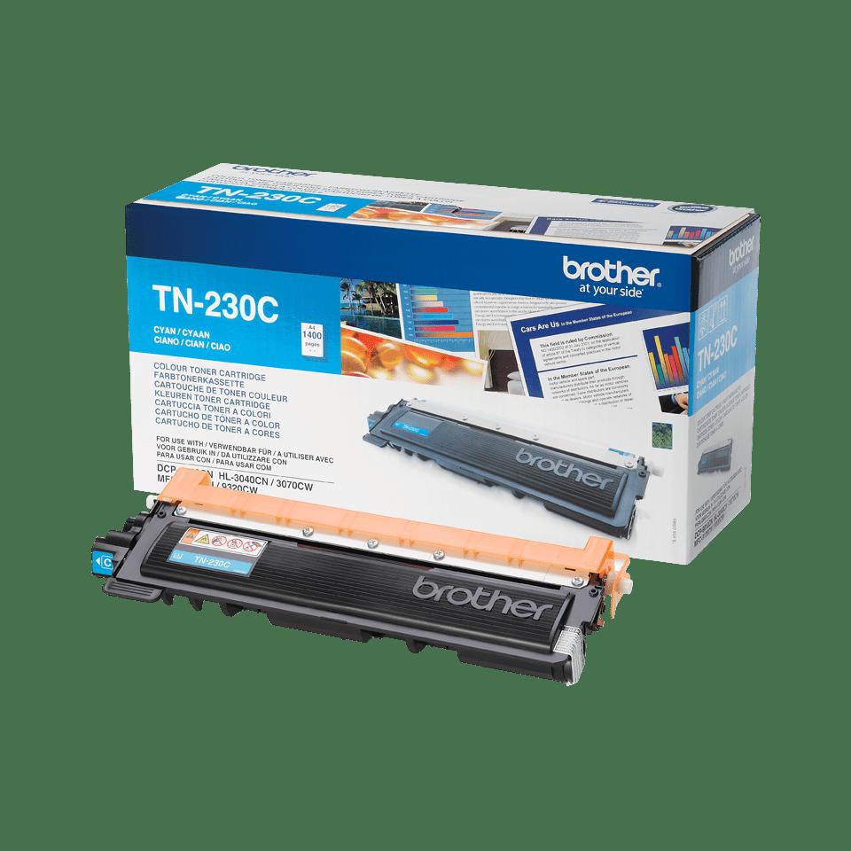 Eredeti Brother TN-230C toner – Ciánkék 2