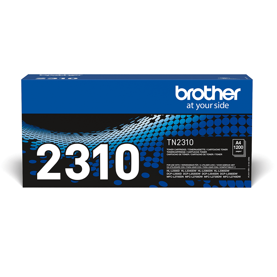 Eredeti Brother TN-2310 tonerkazetta – Fekete