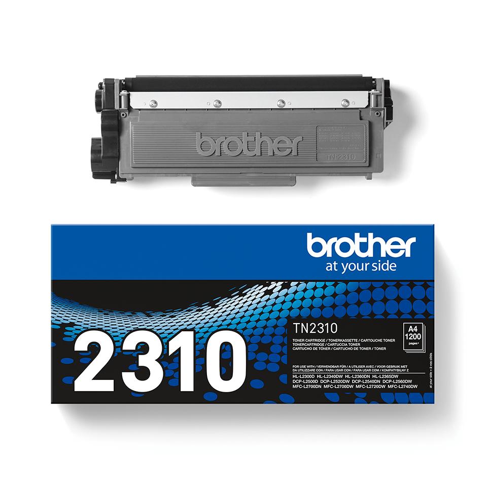 Eredeti Brother TN-2310 tonerkazetta – Fekete 2