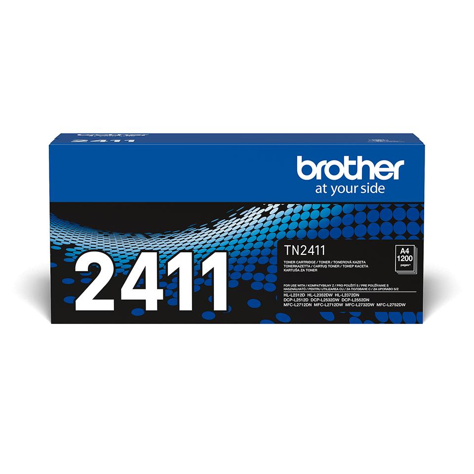Eredeti Brother TN-2411 Toner festékkazetta - Fekete
