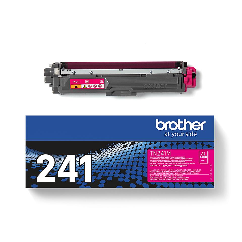 Eredeti Brother TN241M festékkazetta - magenta 2