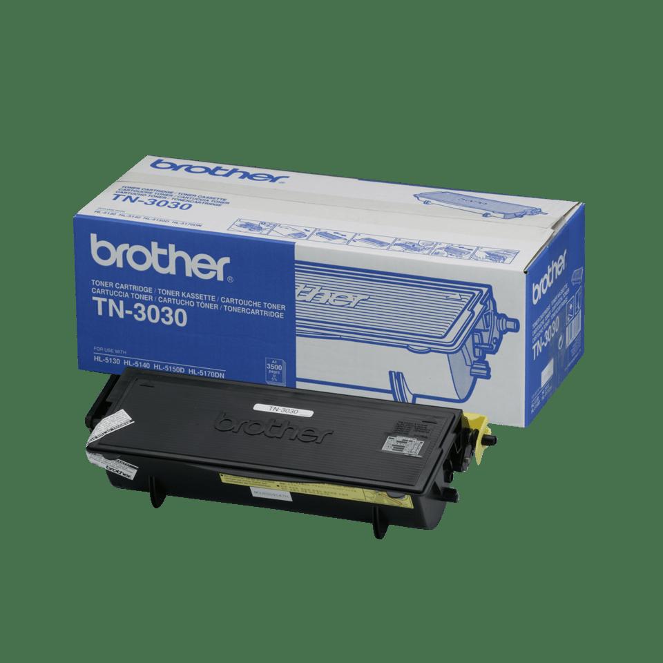 Eredeti Brother TN3030 nagytöltetű festékkazetta - fekete