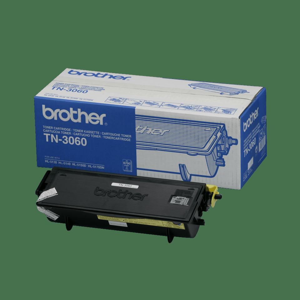 Eredeti Brother TN3060 nagytöltetű festékkazetta - fekete