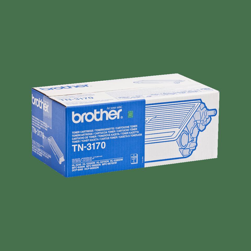Eredeti Brother TN3170 nagytöltetű festékkazetta - fekete 2