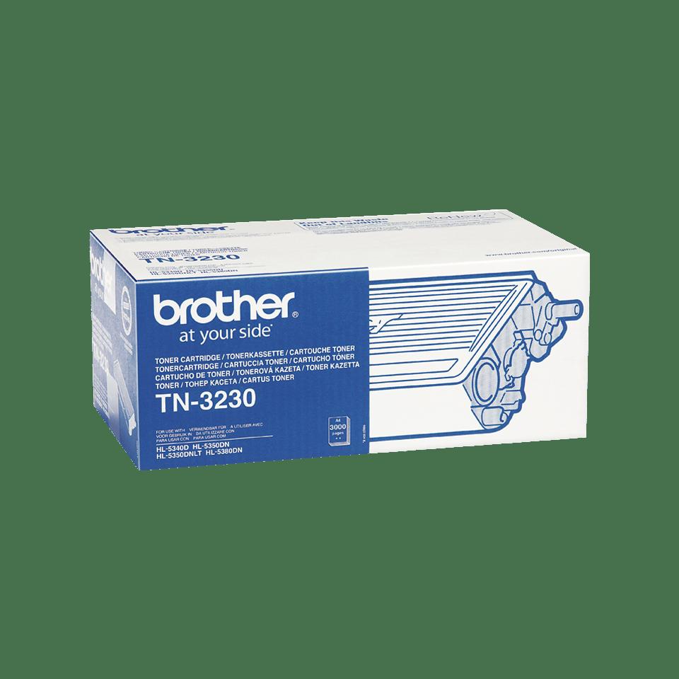 Eredeti Brother TN-3230 toner– Fekete 2