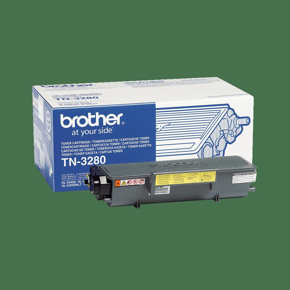 Eredeti Brother TN-3280 nagytöltetű tonerkazetta – Fekete