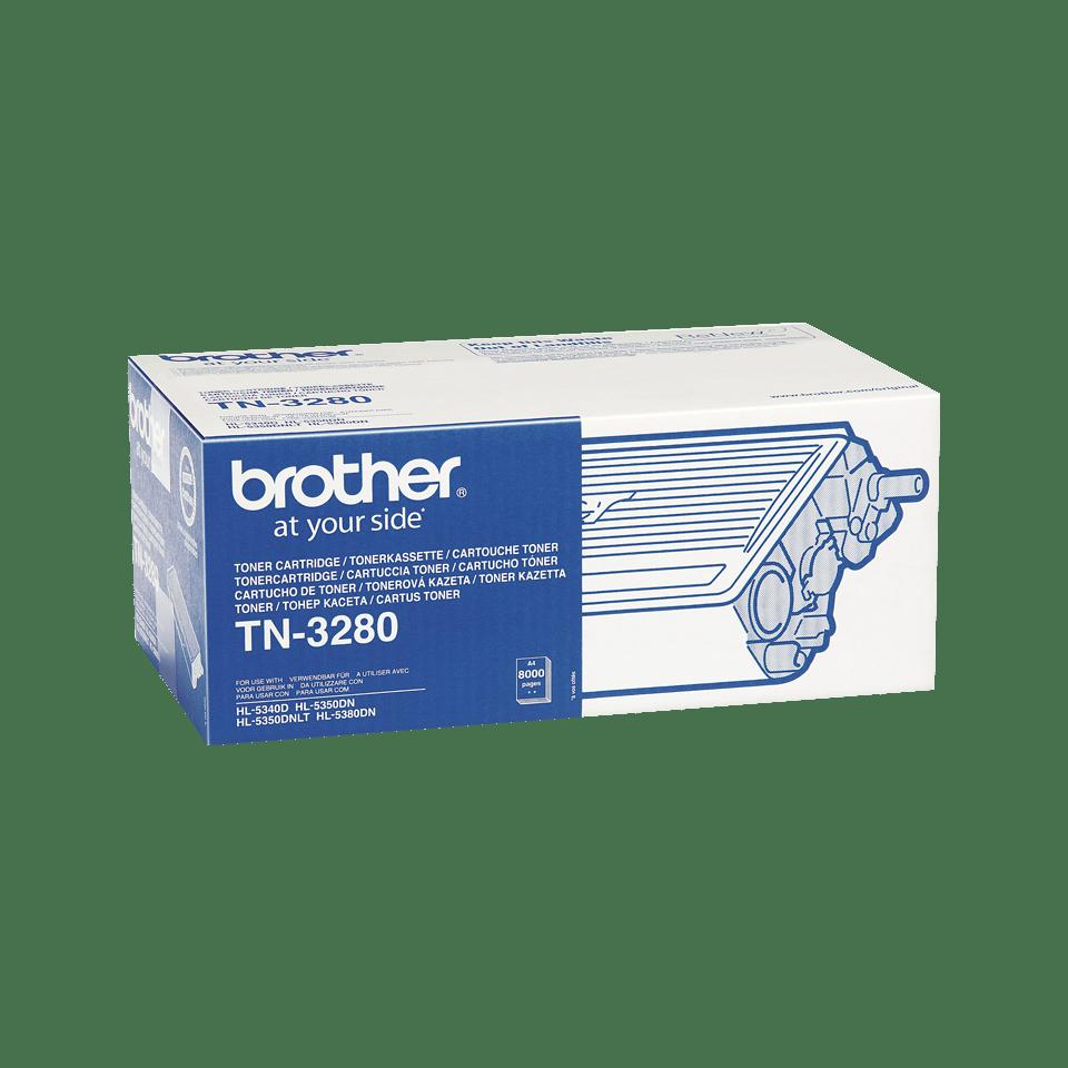 Eredeti Brother TN-3280 nagytöltetű tonerkazetta – Fekete 2