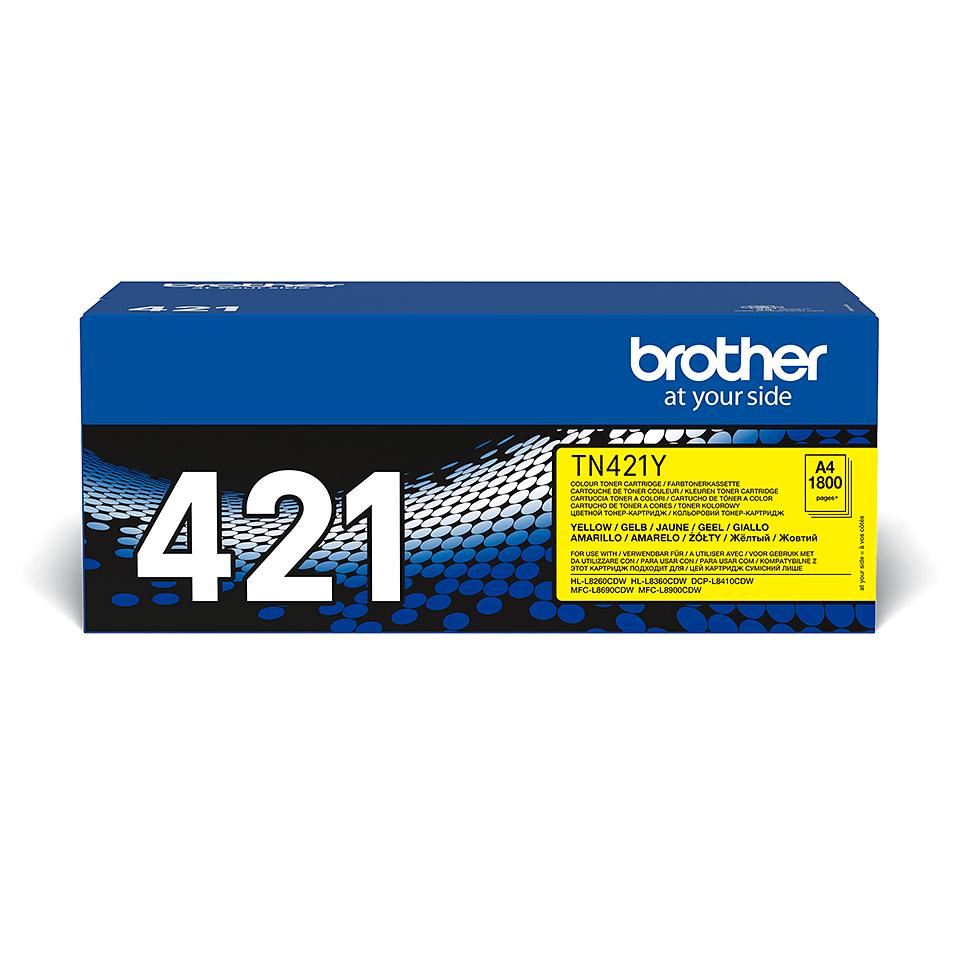 TN421Y | Eredeti kellékek | Brother 2
